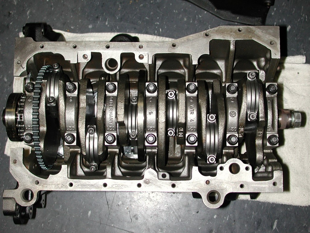 vr6 short block -12v - engine block - 12 valve
