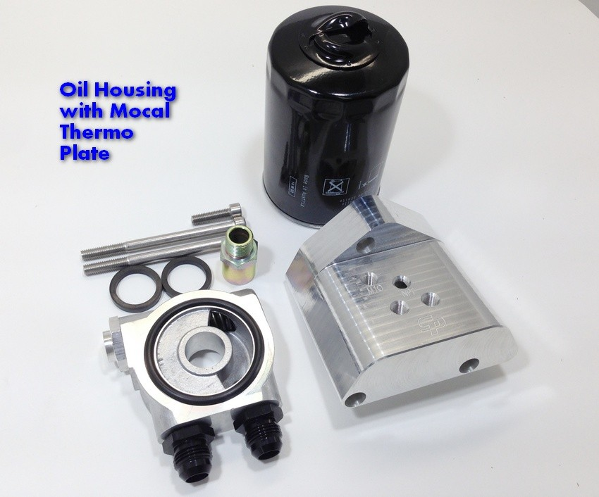 Sp 24v vr6 oil filter housing
