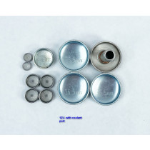VR6 Engine Oil Gallery and Coolant Freeze Plug Set